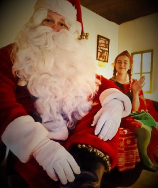 Santa at Hull Central Children's Library 2016